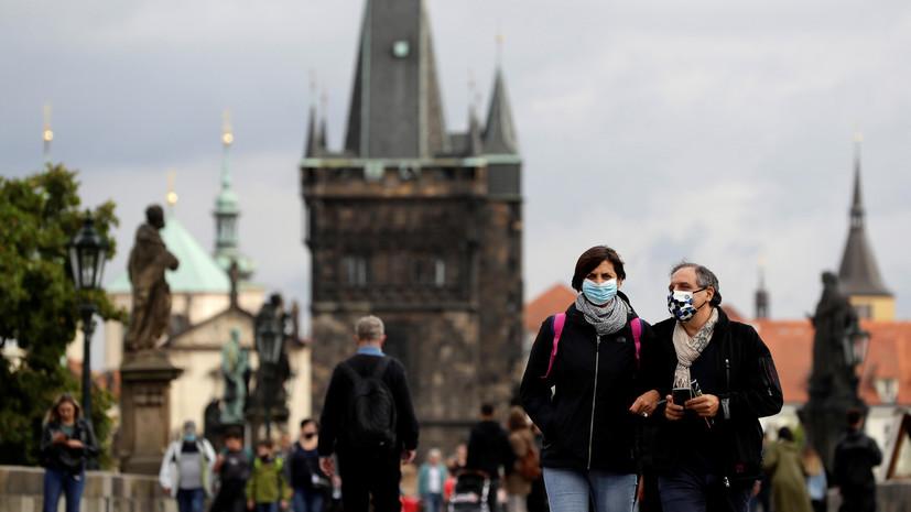 Кабмин Чехии рассмотрит вопрос о введении режима ЧС из-за коронавируса