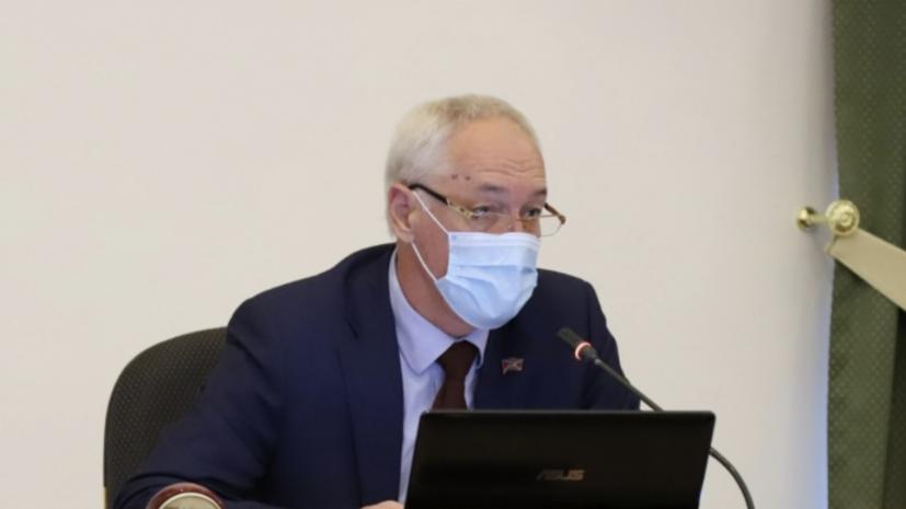 У председателя думы Владивостока подтверждён коронавирус