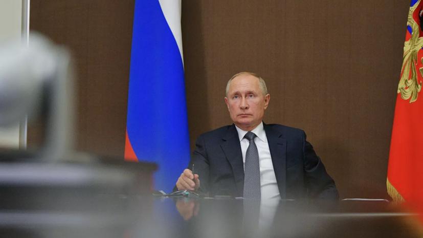 Путин назвал братскими отношения с Белоруссией