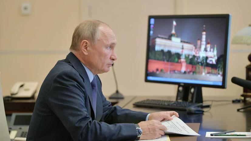 Путин оценил возможность справиться с ростом безработицы