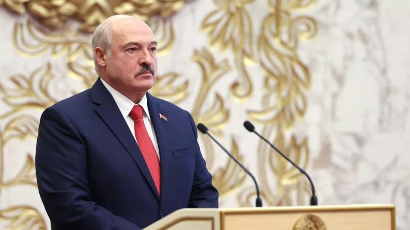 Великобритания ввела санкции против Лукашенко