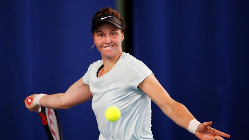 Самсонова проиграла Кенин в первом круге «Ролан Гаррос»