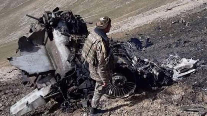 МИД Армении назвал имя погибшего пилота Су-25