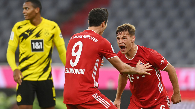 «Бавария» обыграла «Боруссию» и завоевала Суперкубок Германии