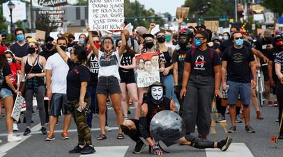 Протестующие в США, штат Колорадо