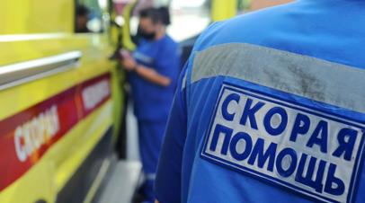 На автотрассе Тюмень — Ханты-Мансийск грузовик протаранил четыре автомобиля