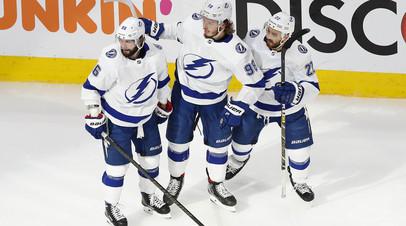 Гол Сергачёва не спас «Тампу» от проигрыша «Айлендерс» в матче плей-офф НХЛ