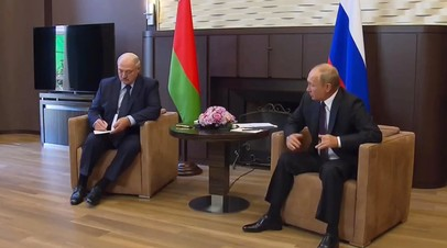 «Россия остаётся приверженной всем нашим договорённостям»: Путин об отношениях Москвы и Минска