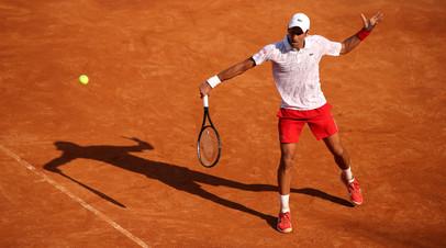 Джокович обыграл Краиновича и вышел в четвертьфинал турнира ATP в Риме