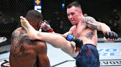 Бойцы UFC Колби Ковингтон и Тайрон Вудли