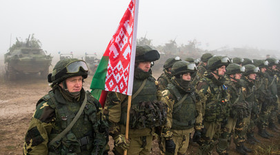 В Белоруссии начинается активная фаза учений с Россией