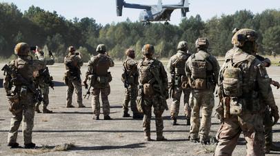 Военные учения НАТО Rapid Trident 2020, Львовская область, Украина