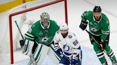 Кучеров вышел на второе место по очкам в одном плей-офф НХЛ среди россиян