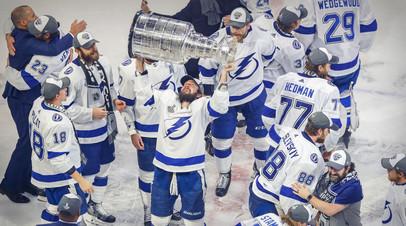 Квартет чемпионов: «Тампа» с четырьмя российскими хоккеистами в составе завоевала Кубок Стэнли