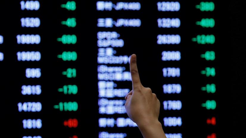 На Токийской бирже произошёл сбой