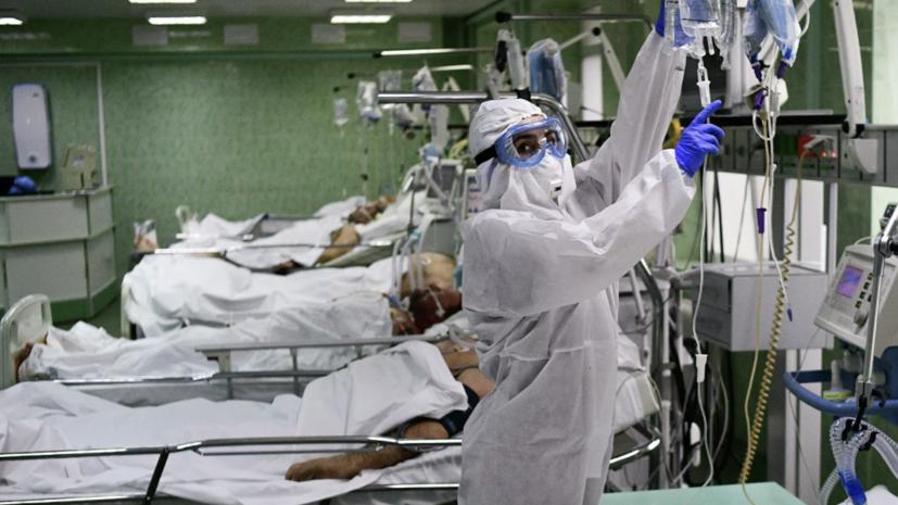 За сутки в России умерли 169 пациентов с коронавирусом