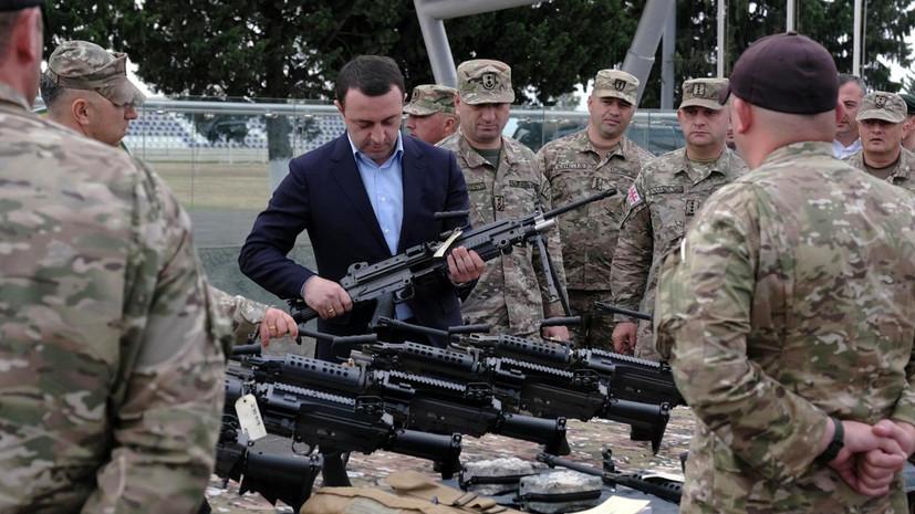 «Жёсткие геополитические обязательства»: как Грузия ставит на вооружение американские пулемёты