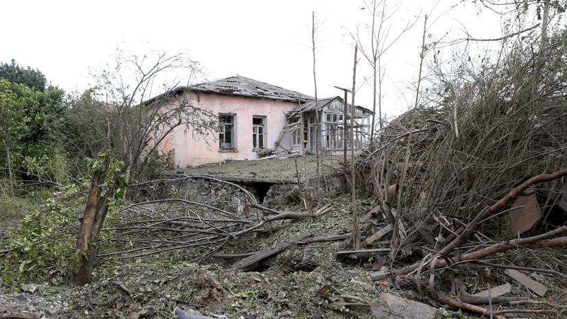 США призвали к прекращению военных действий в Нагорном Карабахе