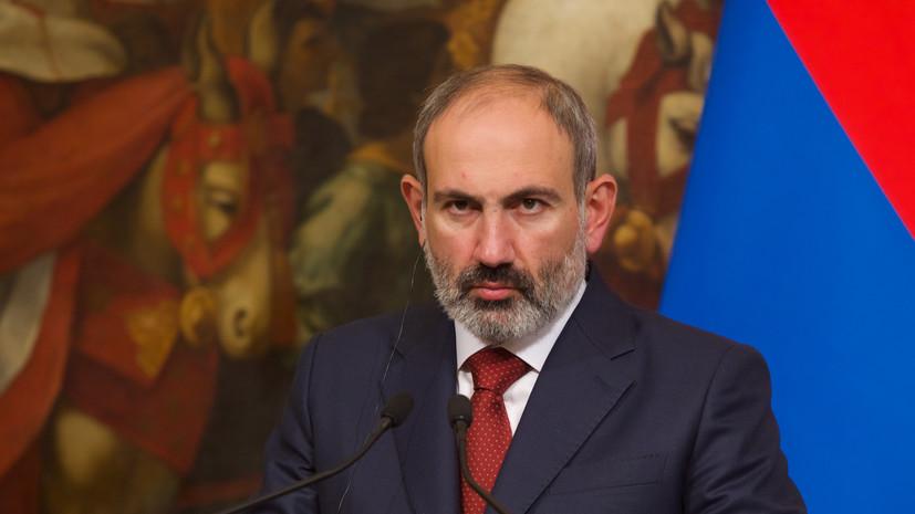 Пашинян заявил о четырёх сбитых БПЛА над Арменией