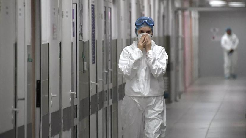 В России за сутки умерли 186 пациентов с коронавирусом