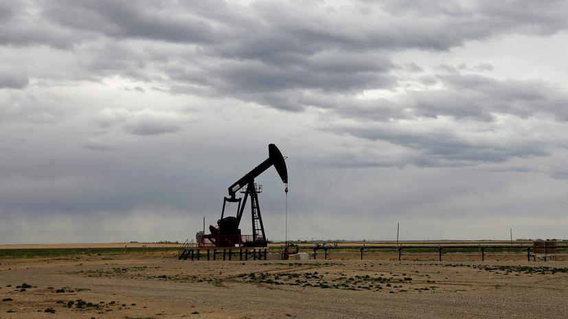 Мировые цены на нефть снижаются более чем на 4%