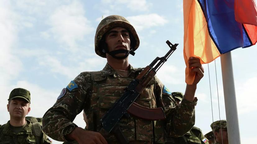 Воинские соединения Армении приведены в полную боеготовность