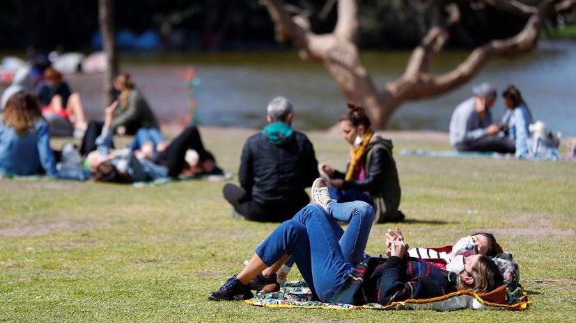 Число случаев коронавируса в Аргентине возросло до 790 818