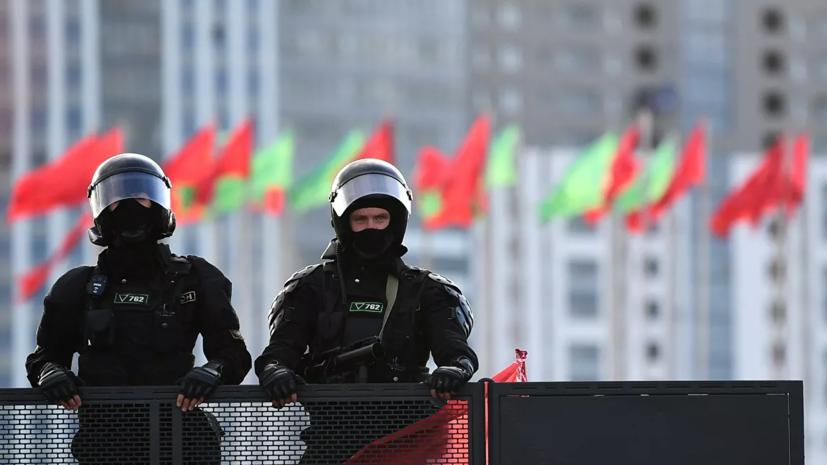 В Минске применили водомёт для разгона протестующих