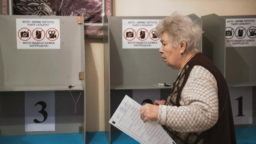 Явка на выборы в парламент Киргизии составила 56,2%