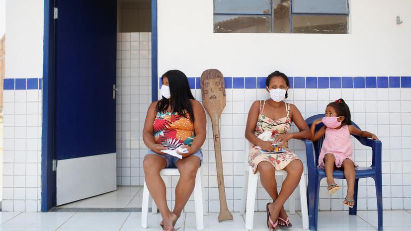 В Бразилии за сутки выявили более 8000 случаев коронавируса