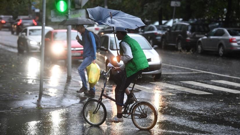 Синоптики предупредили о дождях в Петербурге