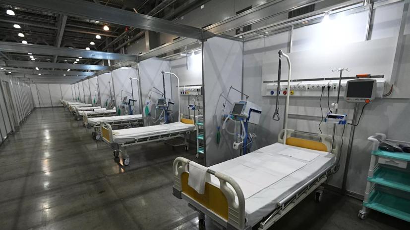 В Заполярье развёрнуто 847 коек для пациентов с COVID-19