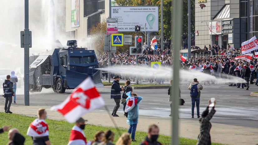 В Белоруссии задержали более 300 протестующих