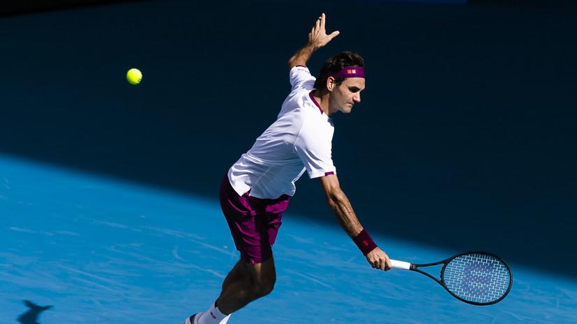 Федерер рассказал о ходе восстановления после операций на колене