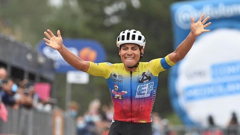 Кайседо одержал победу на третьем этапе «Джиро д'Италия»