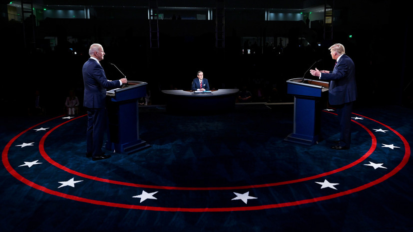 Трамп намерен принять участие в дебатах с Байденом 15 октября