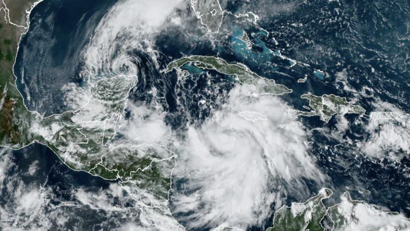 Тропический шторм «Дельта» стал ураганом