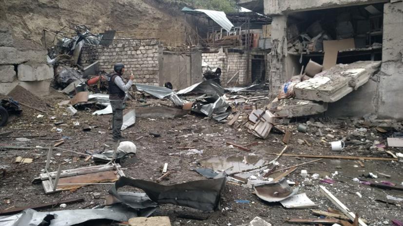 В Кремле высказались о ситуации в Нагорном Карабахе