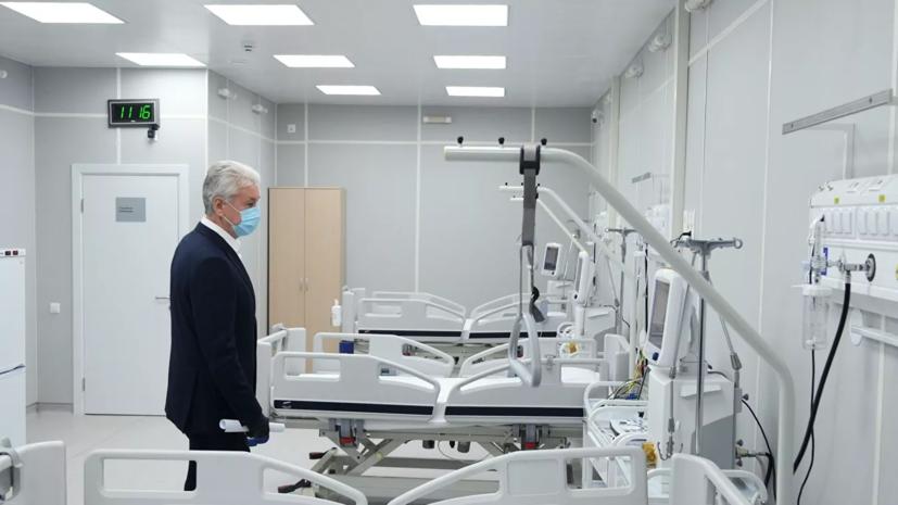 Госпиталь в Сокольниках принял первых пациентов с коронавирусом