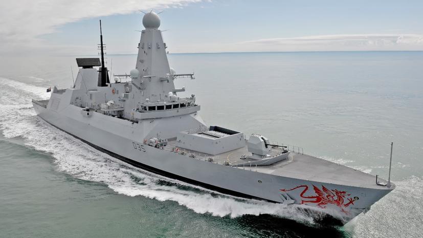 Британский эсминец Dragon зашёл в Одесский порт