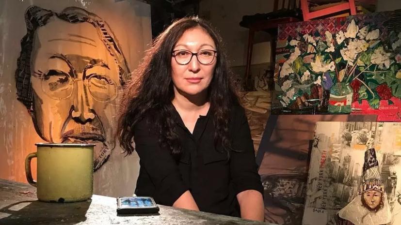 Художница Сулейменова рассказала о своём стиле написания картин