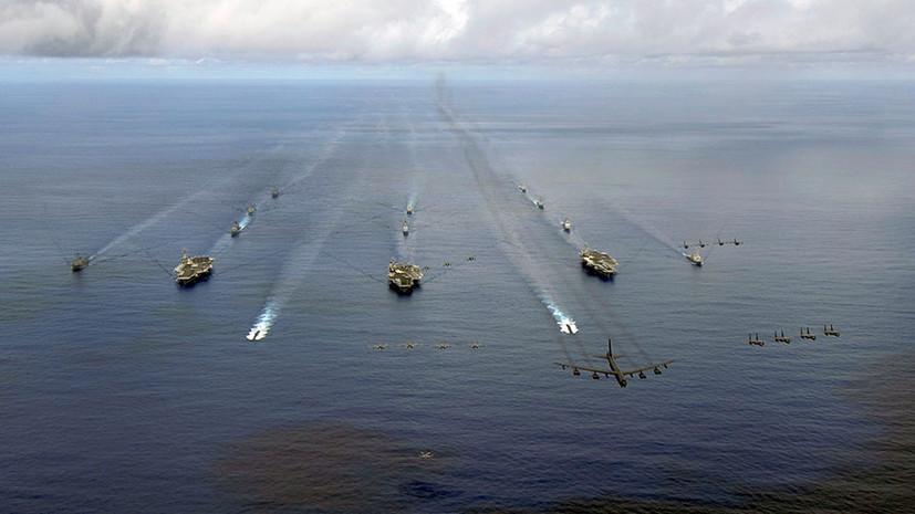 «Новый вызов для Пентагона»: хватит ли ВМС США 500 кораблей и подлодок для сдерживания России и Китая