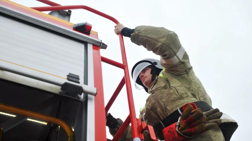 В Рязанской области эвакуируют десять сёл из-за пожара на арсенале