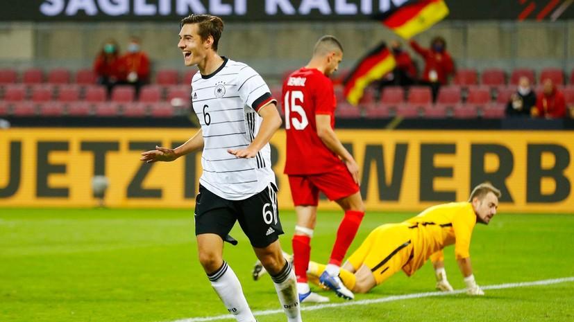 Германия сыграла вничью с Турцией в товарищеском матче
