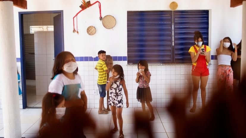 Число случаев коронавируса в Бразилии превысило 5 млн