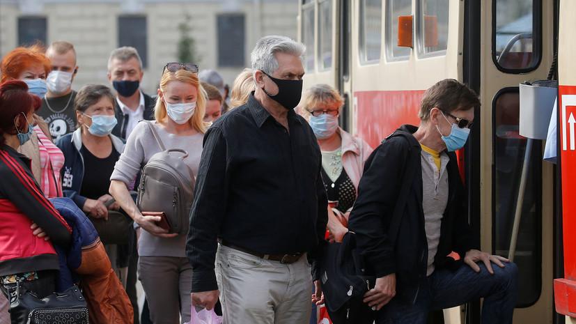 На Украине впервые выявили более пяти тысяч новых случаев COVID-19