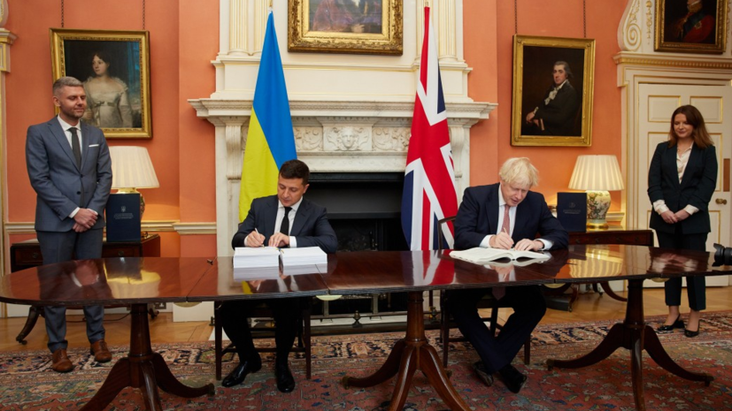 Украина и Британия подписали соглашение о политическом сотрудничестве