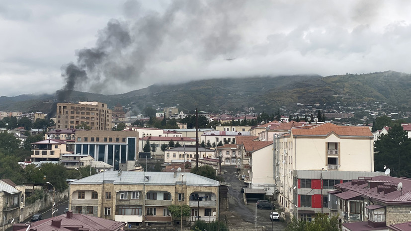При обстреле в Карабахе пострадал российский военкор Юрий Котенок