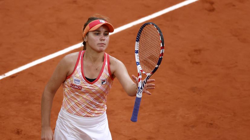 Кенин обыграла Квитову и стала второй финалисткой «Ролан Гаррос»