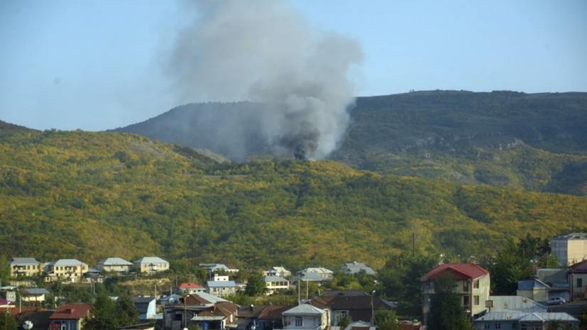 Путин призвал прекратить боевые действия в Нагорном Карабахе